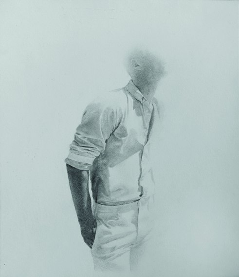 Andrea Boyer - ABW358 2014 drawing on Schoellers paper 32x28