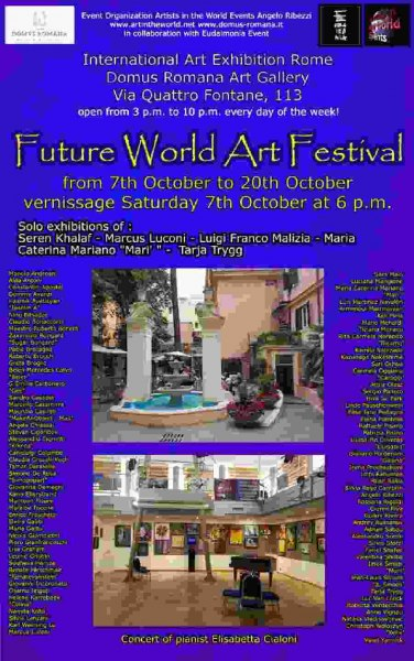 Locandina Future World Art Festival