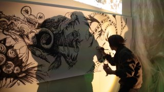 live painting k3in3 f4rb3.pic gianluca distante