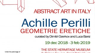 Abstract Art in Italy. Achille Perilli. Geometrie eretiche