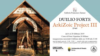 Duilio Forte ArkiZoic Project III Galleria Francesco Zanuso