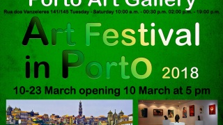 Art Festival in Porto 2018  flyer