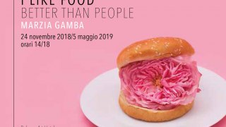 Marzia Gamba I Like Food Better Than People