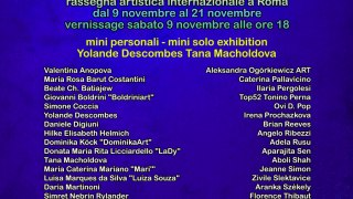 Locandina Art in Rome November 2019