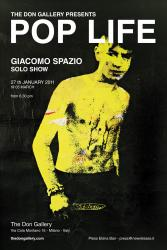 giacomo spazio, pop life, don gallery, flyer