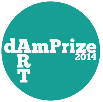 logo DAMprize - contemporary art contest